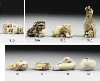 Ten ivory netsuke