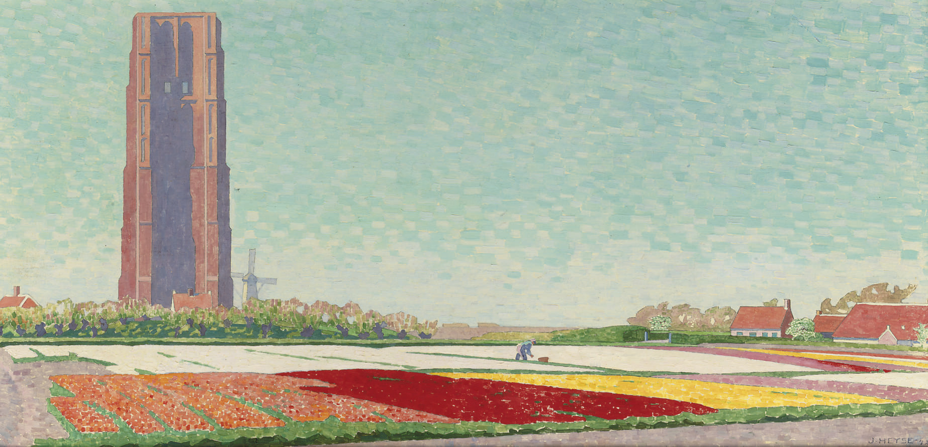 Bulb fields near Westkapelle