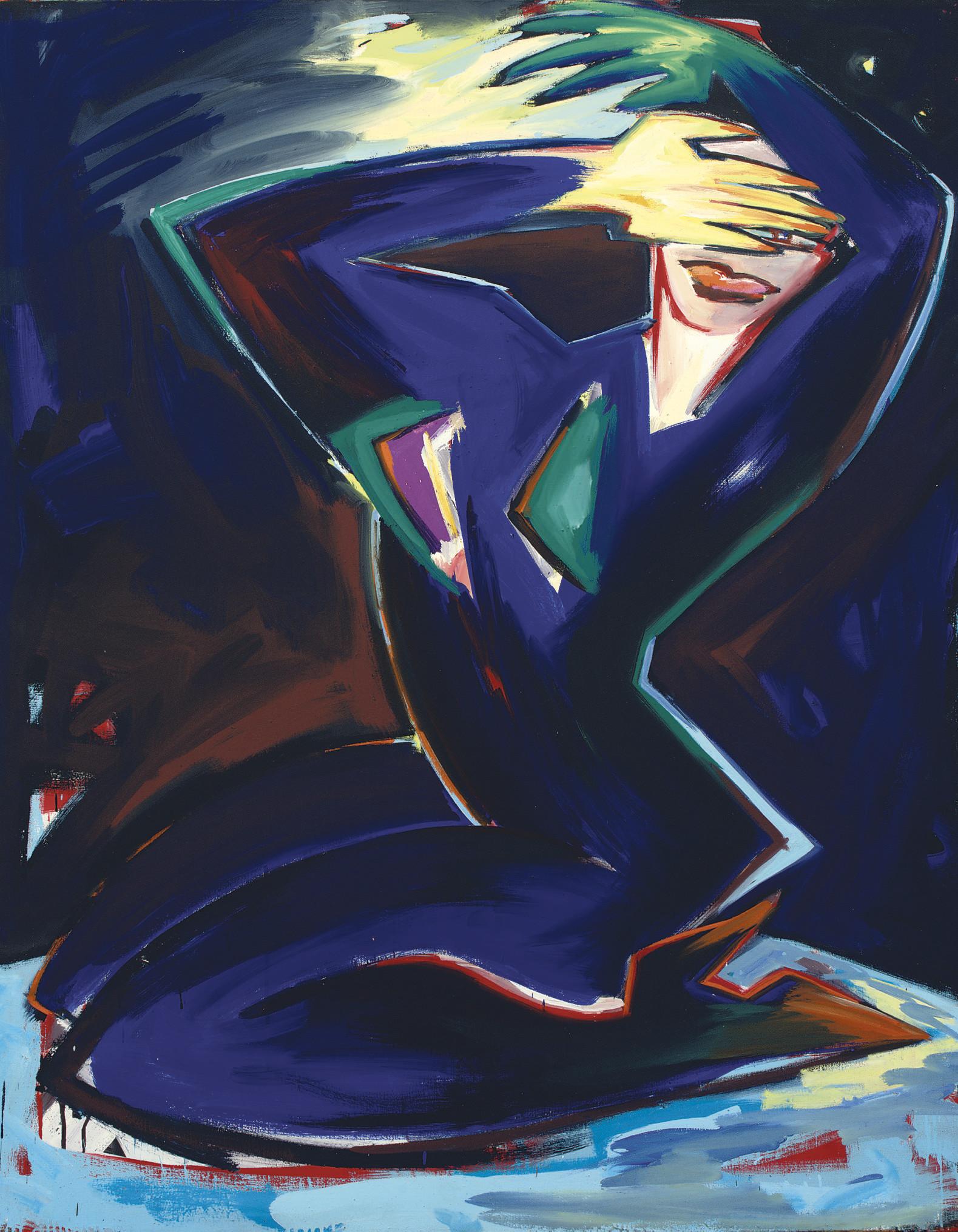Elvira Bach (GERMAN, B. 1951)