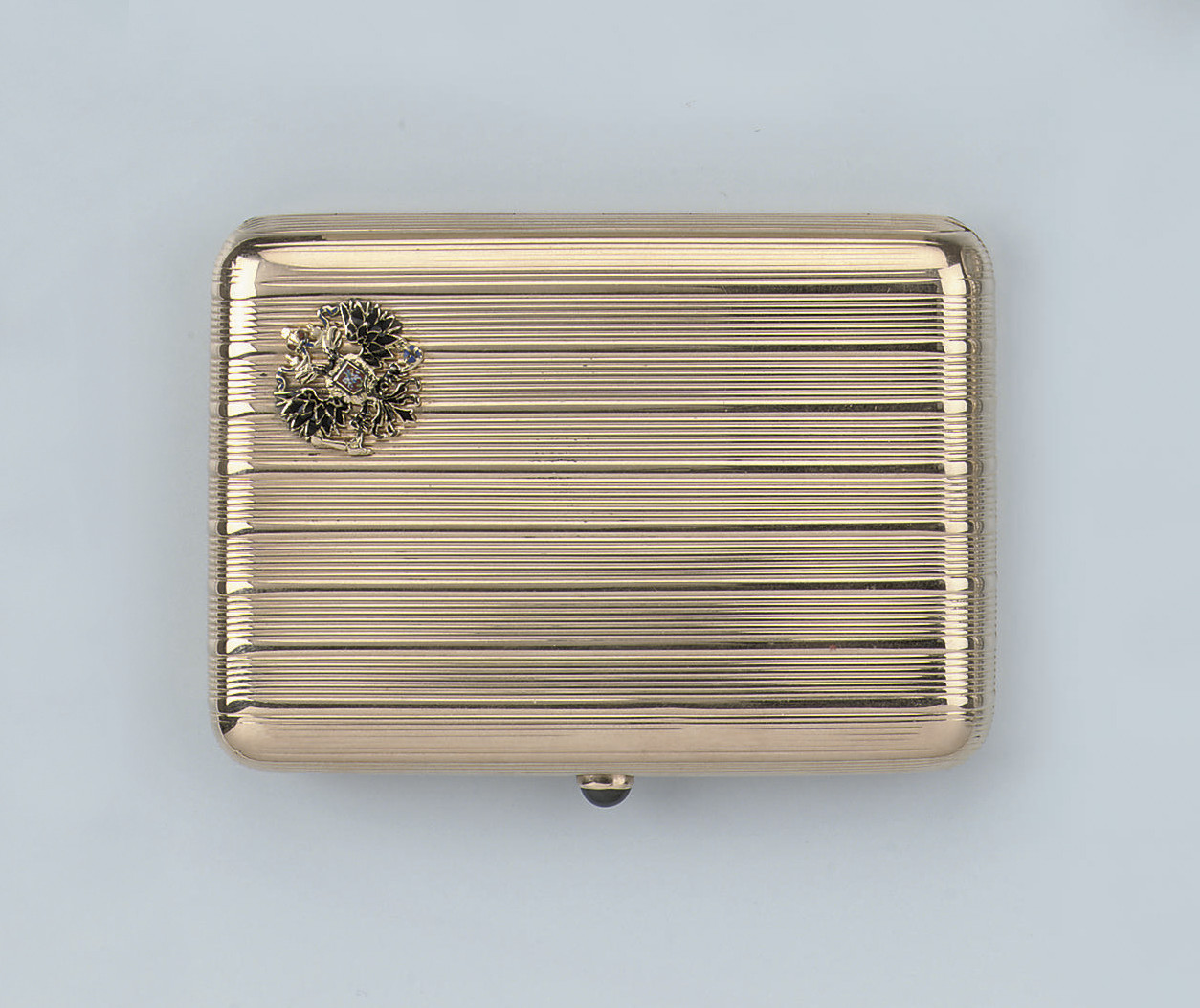 A RUSSIAN CIGARETTE CASE