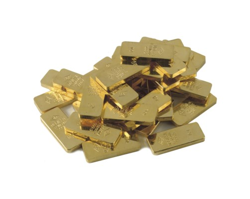 A COLLECTION OF GOLD BARS