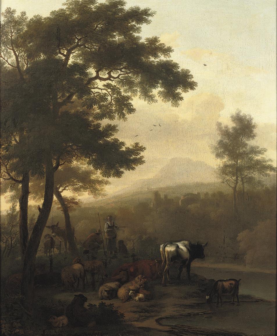 Dirck van Bergen (Haarlem 1645