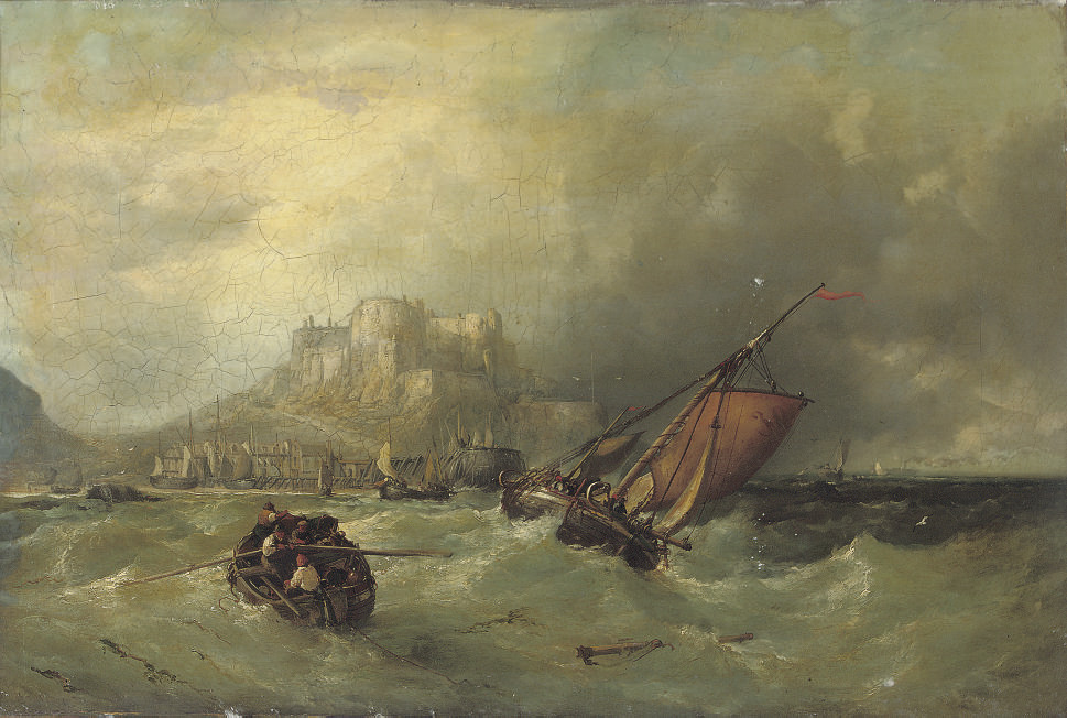 On a choppy sea