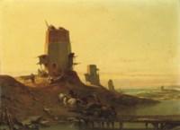 Arab mills along the Spanish coast