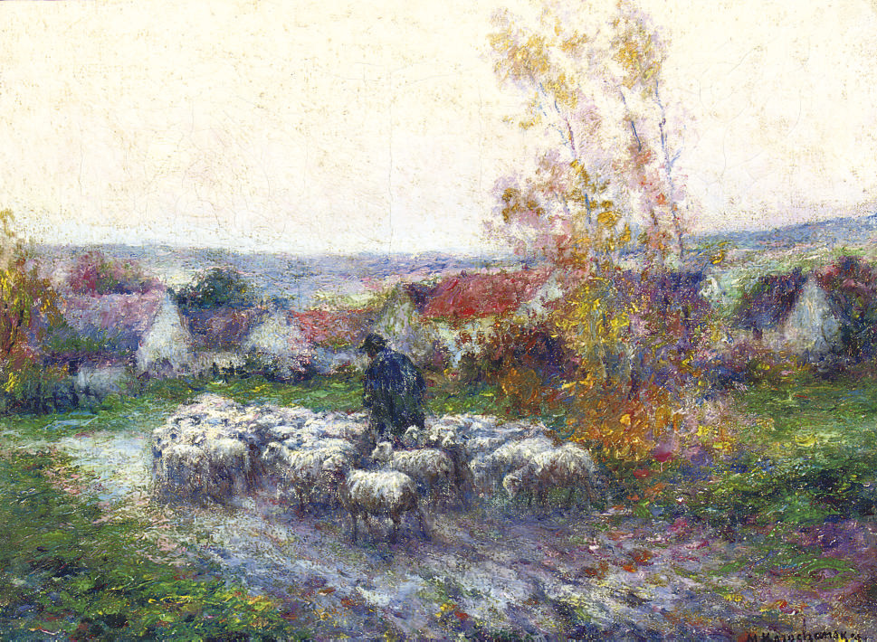 Herding the sheep