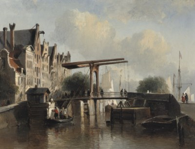 Antonie Waldorp (Dutch, 1803-1