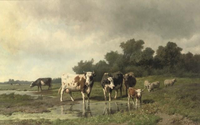 Hendrik Savry (Dutch, 1823-190