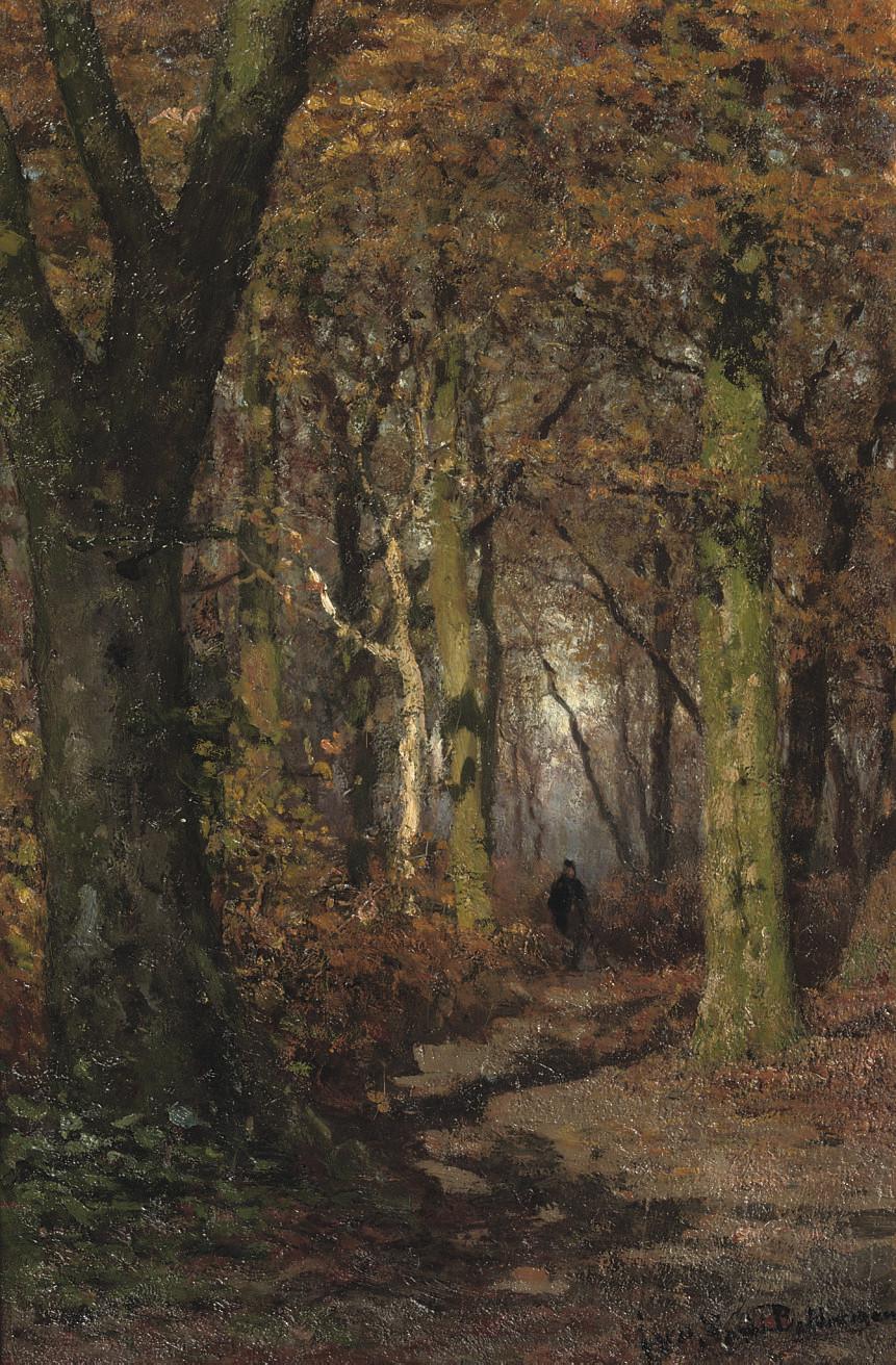 Julius Jacobus van de Sande Bakhuyzen (Dutch, 1835-1925)