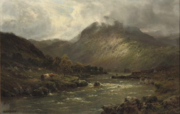 Alfred de Breanski (British, 1