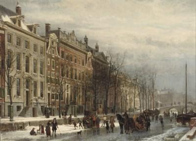 Cornelis Springer (Dutch, 1817