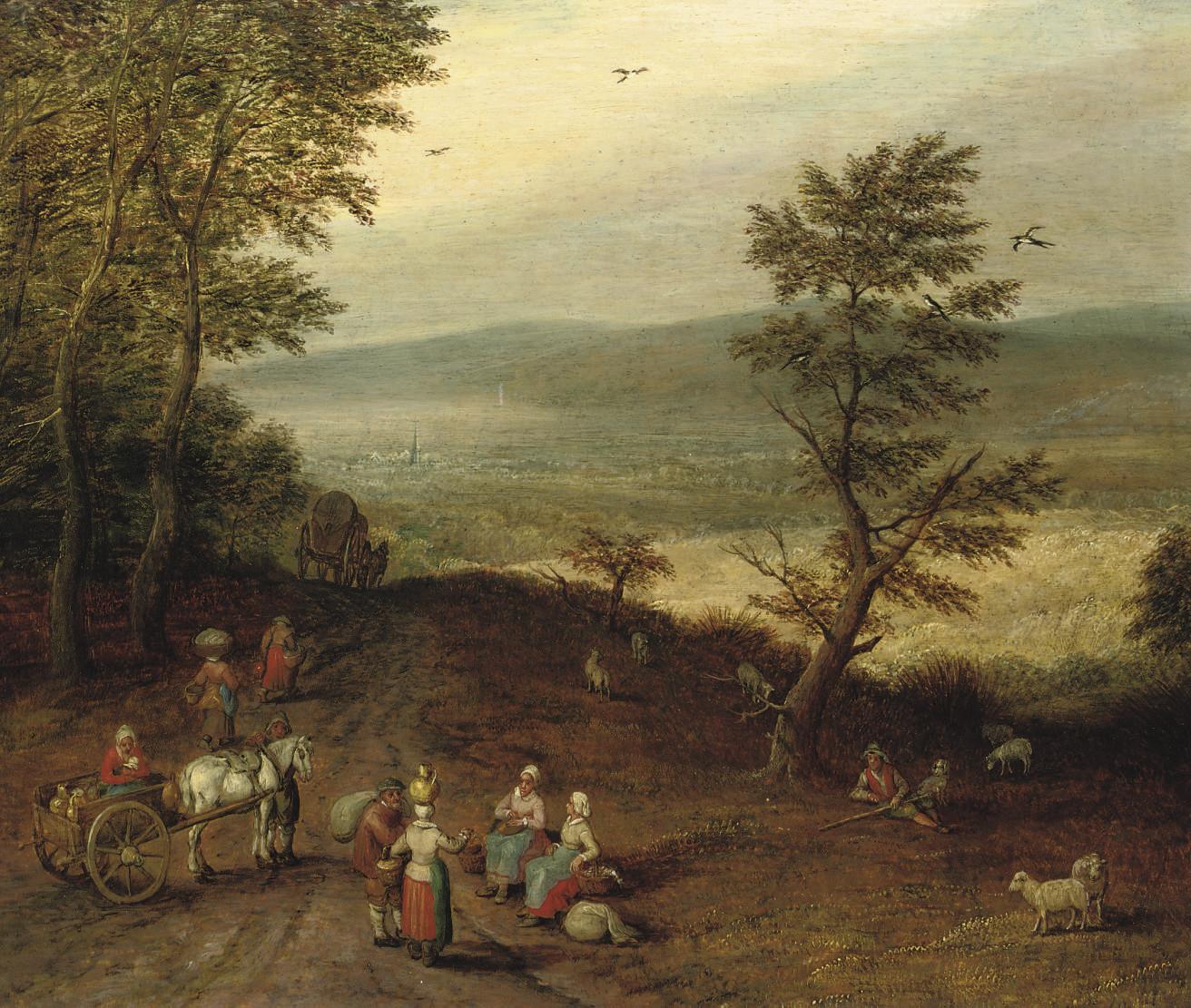 Circle of Jan Breughel II (Ant