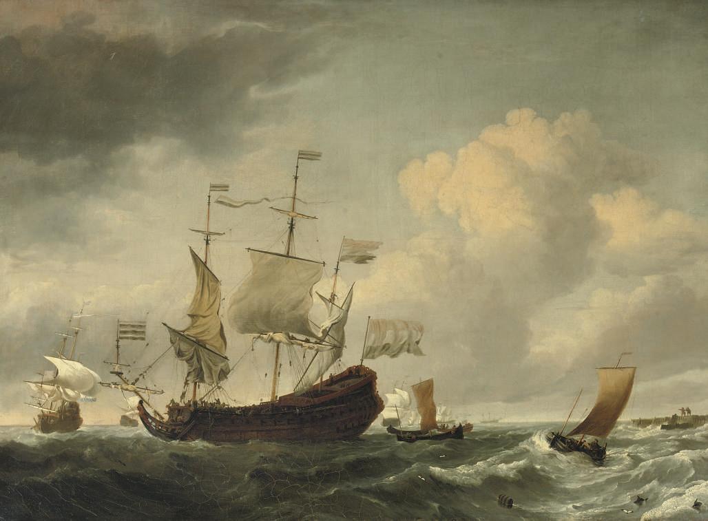 Follower of Willem van de Veld