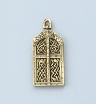 AN ANTIQUE RUSSIAN PENDANT