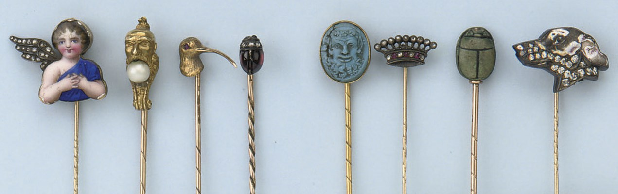 A COLLECTION OF EIGHT ANTIQUE