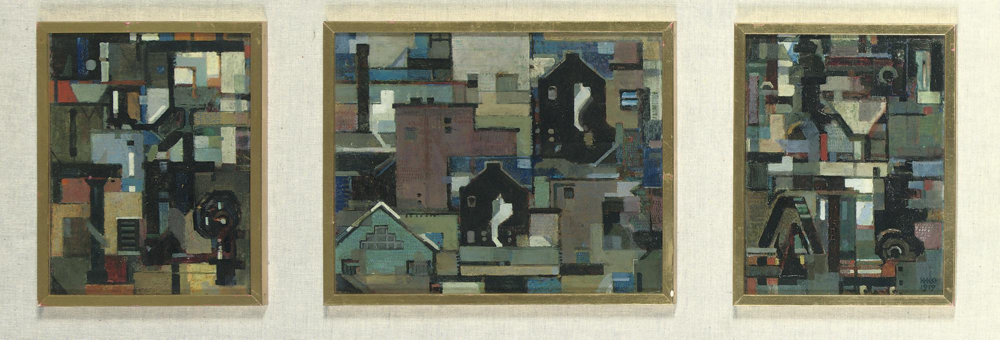 Delft (a triptych)