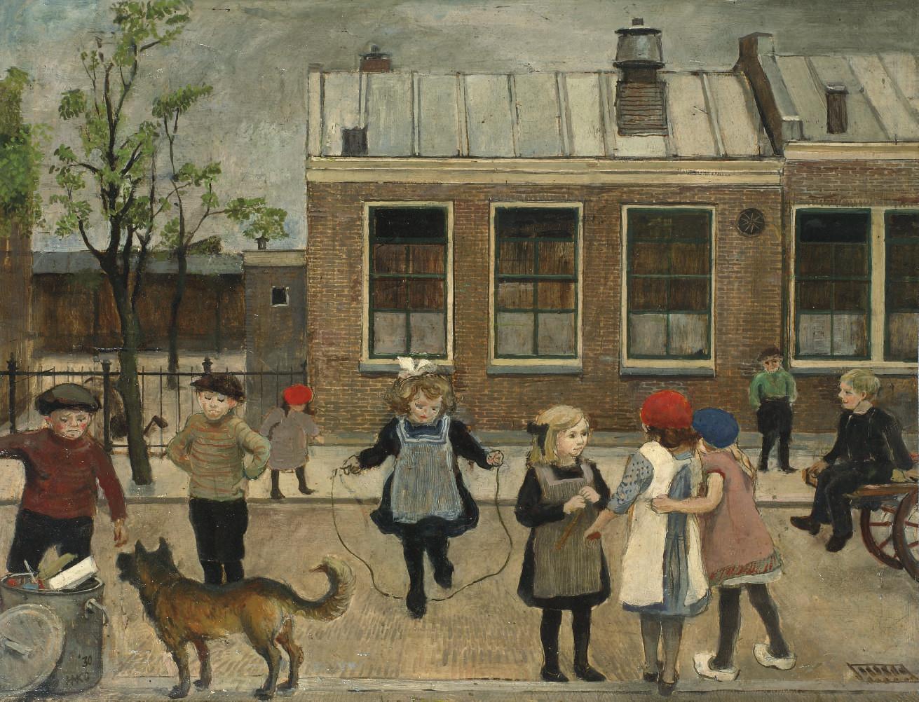 Village school, Oegstgeest