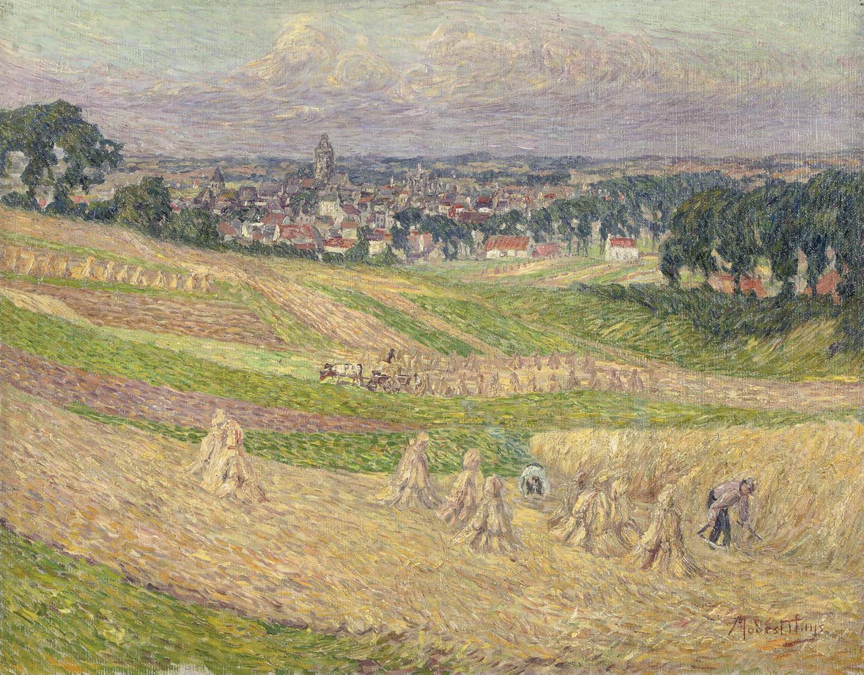 Rond Audenaarde: working on the fields