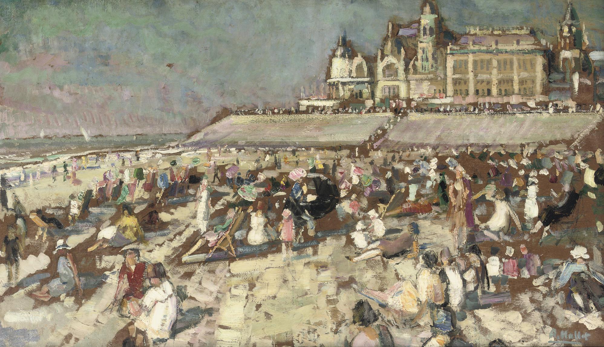 André Hallet (BELGIAN, 1890-19