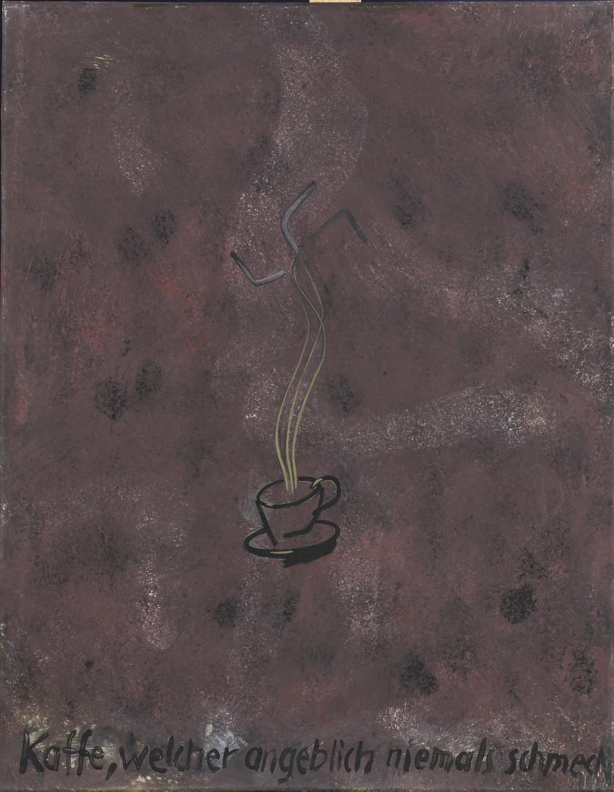 Kaffee, welcher angeblich niemals schmeckt