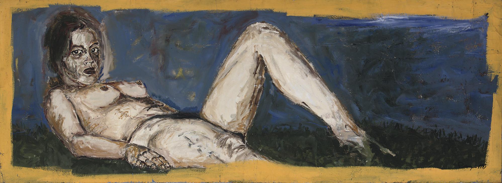 Femme allongé - Reclining nude