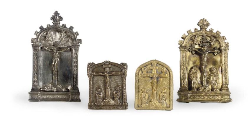 FOUR VARIOUS PAX CHRISTI