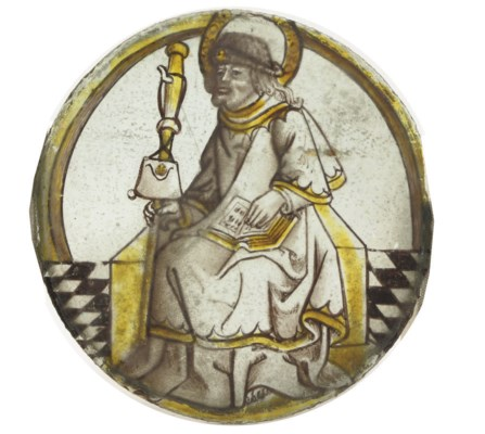 A FLEMISH STAINED GLASS ROUNDE