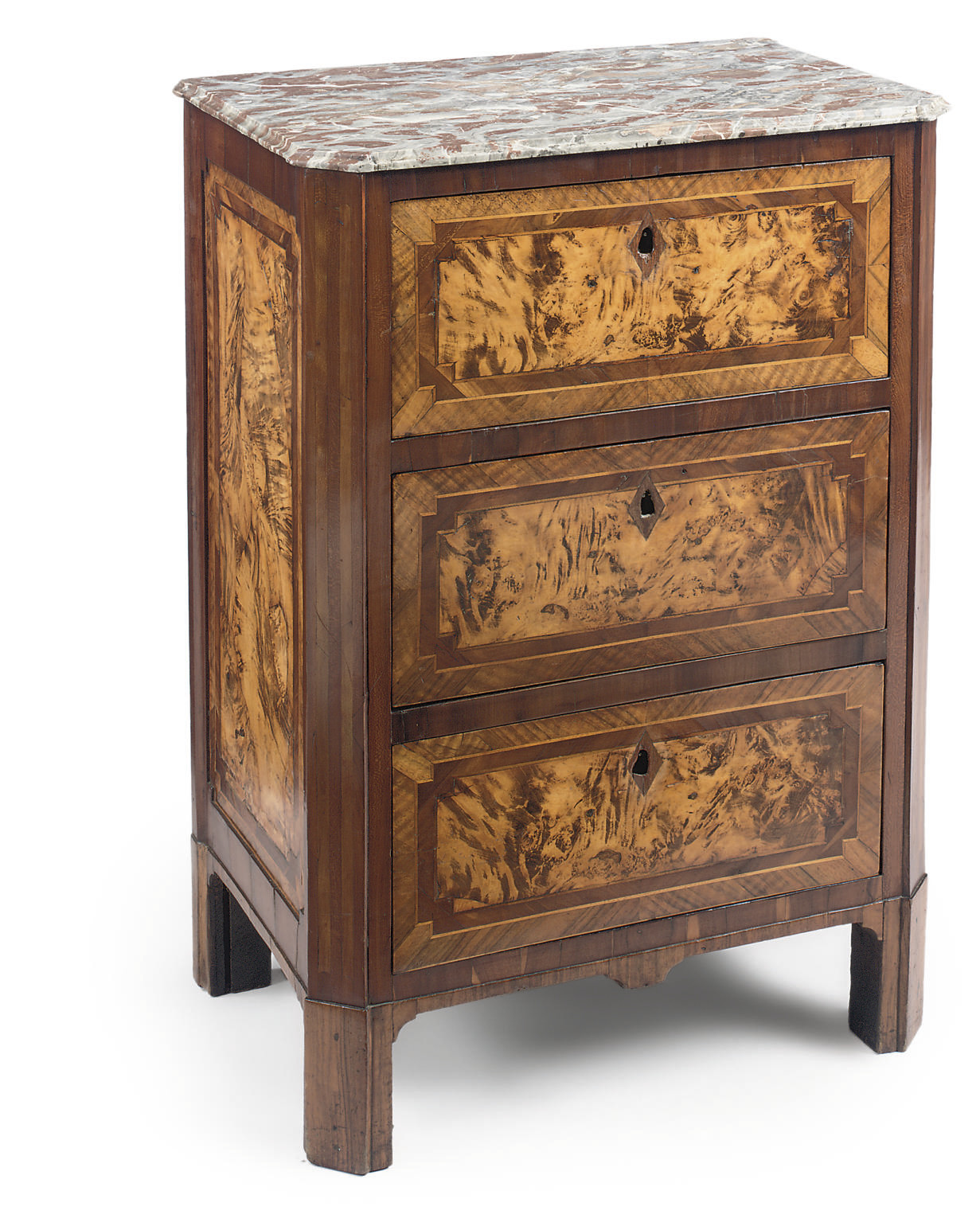 A FRENCH PROVINCIAL FRUITWOOD,