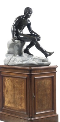 A NEAPOLITAN BRONZE OF THE SEA