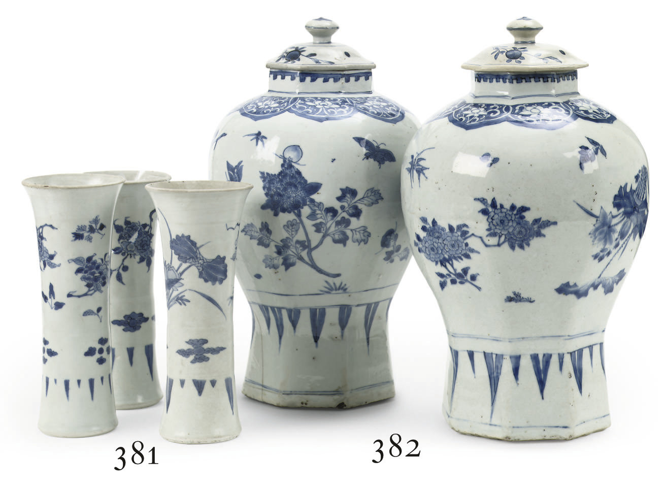 A pair of Chinese Transitional