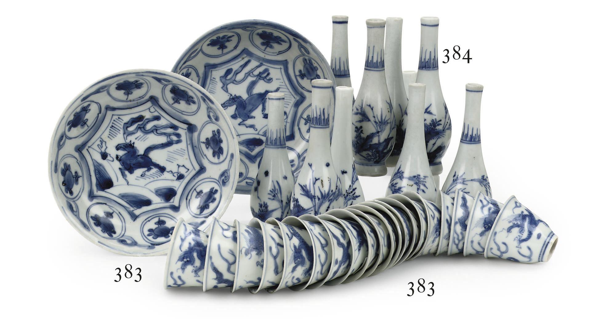 A set of twenty Chinese Transi