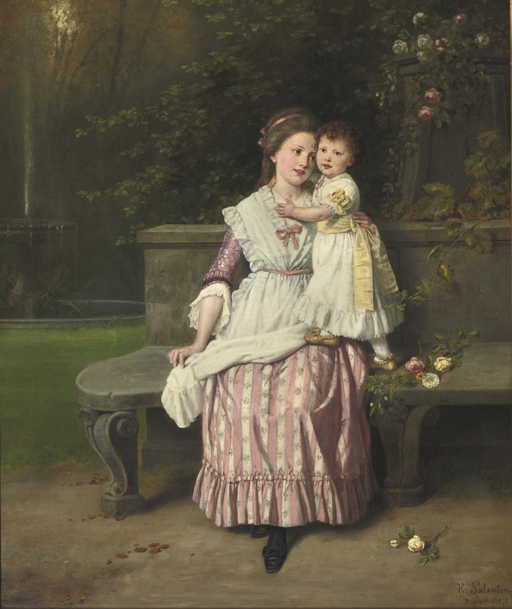 Hubert Salentin (German, 1822-