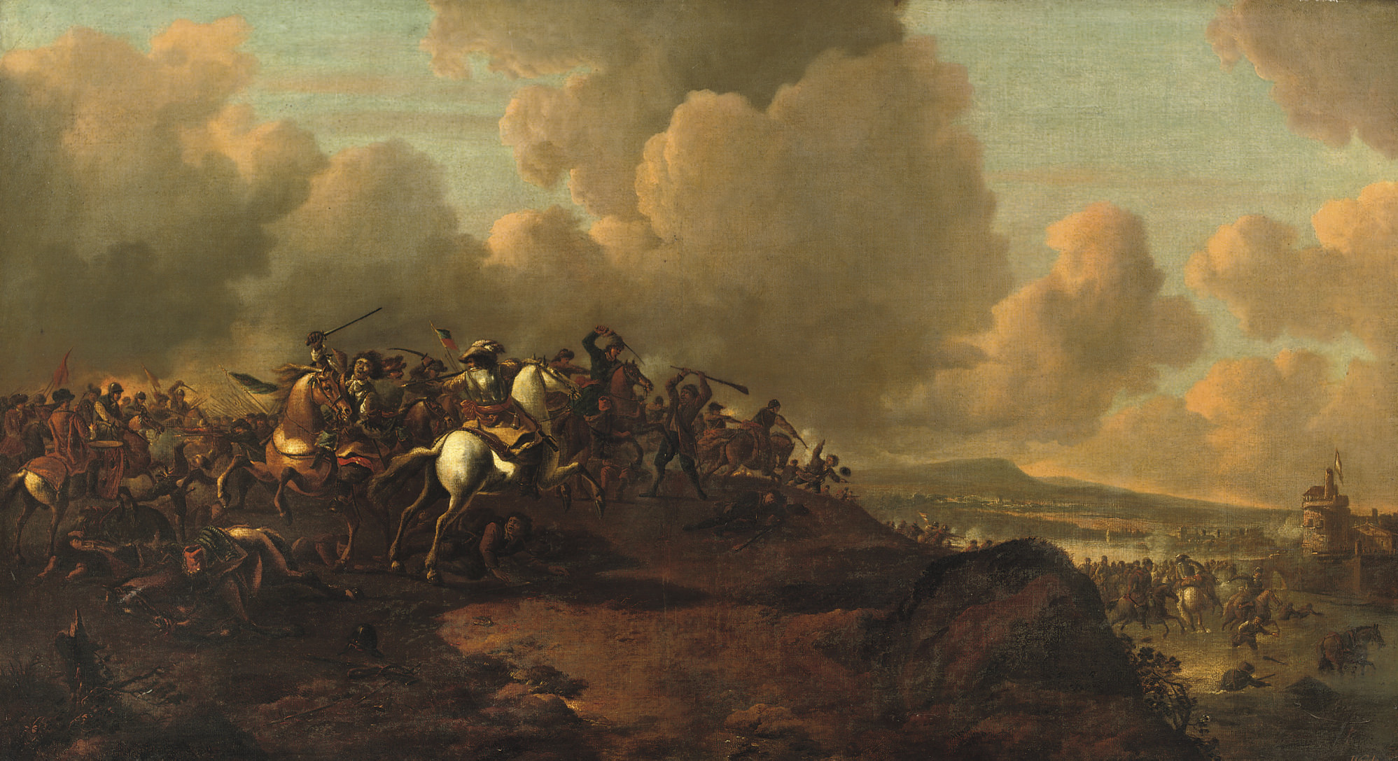 Circle of Jan Wijck (Haarlem 1