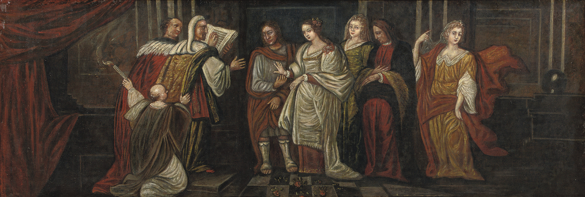 The Marriage of Constantin the Great and Faustina