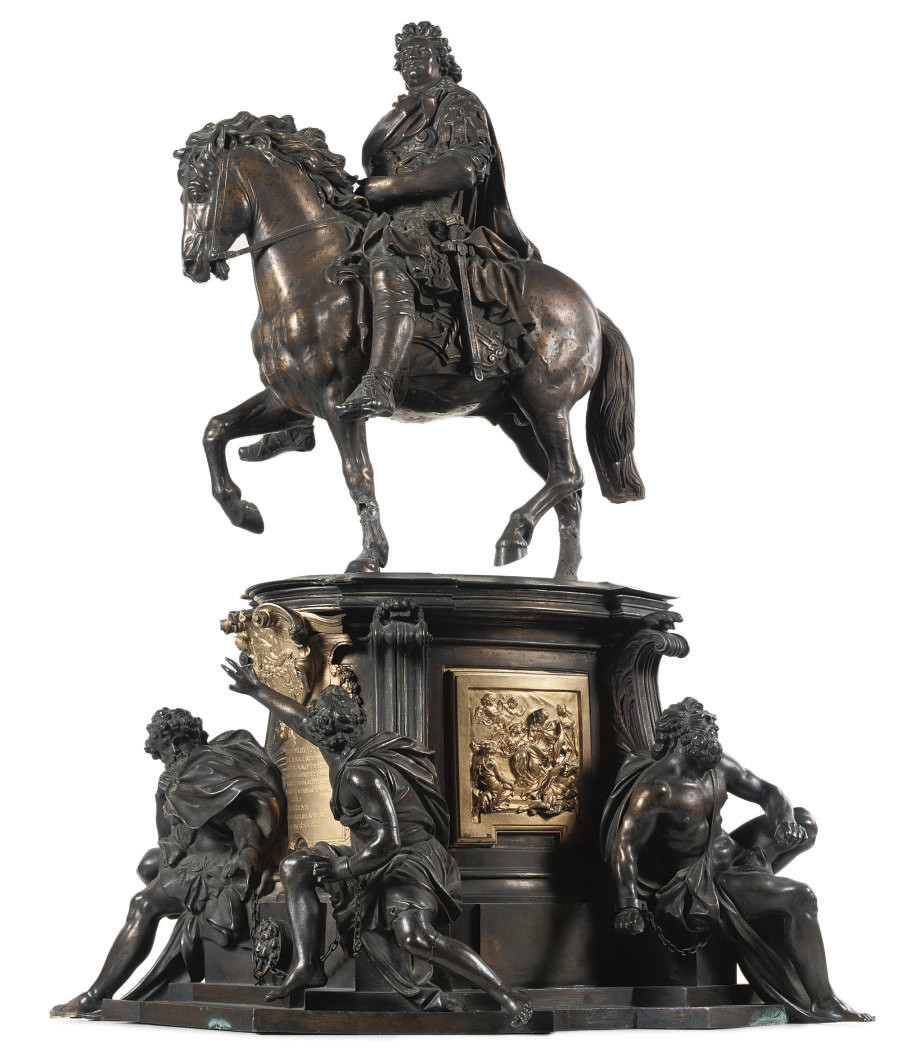 AN EQUESTRIAN GROUP OF FREDERI