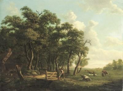 Dirk van den Burg (Dutch, 1723