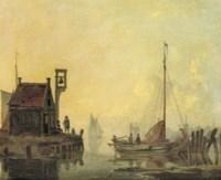 A harbour entrance