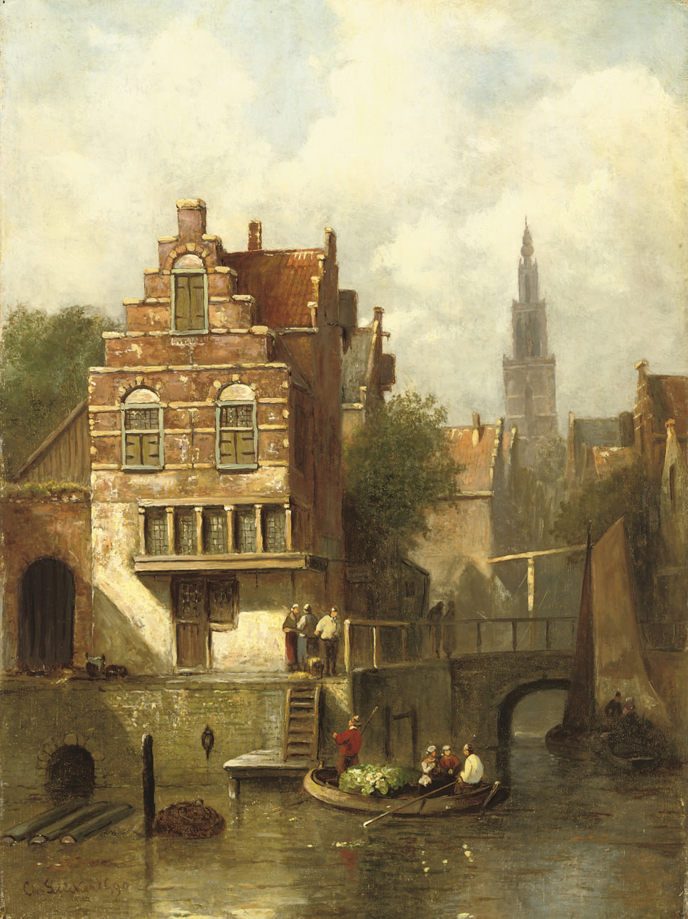 Charles Leickert (Dutch, 1816-