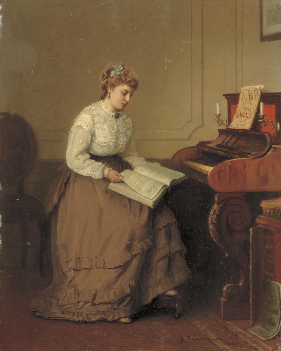Jacob Taanman (Dutch, 1836-192