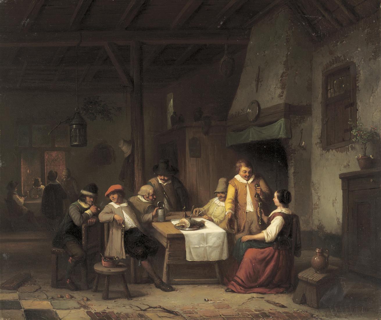 At the tavern