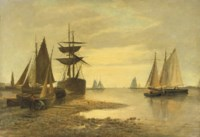 Shipping near a harbour entrance