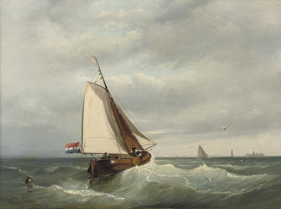Johan Coenraad Leich (Dutch, 1