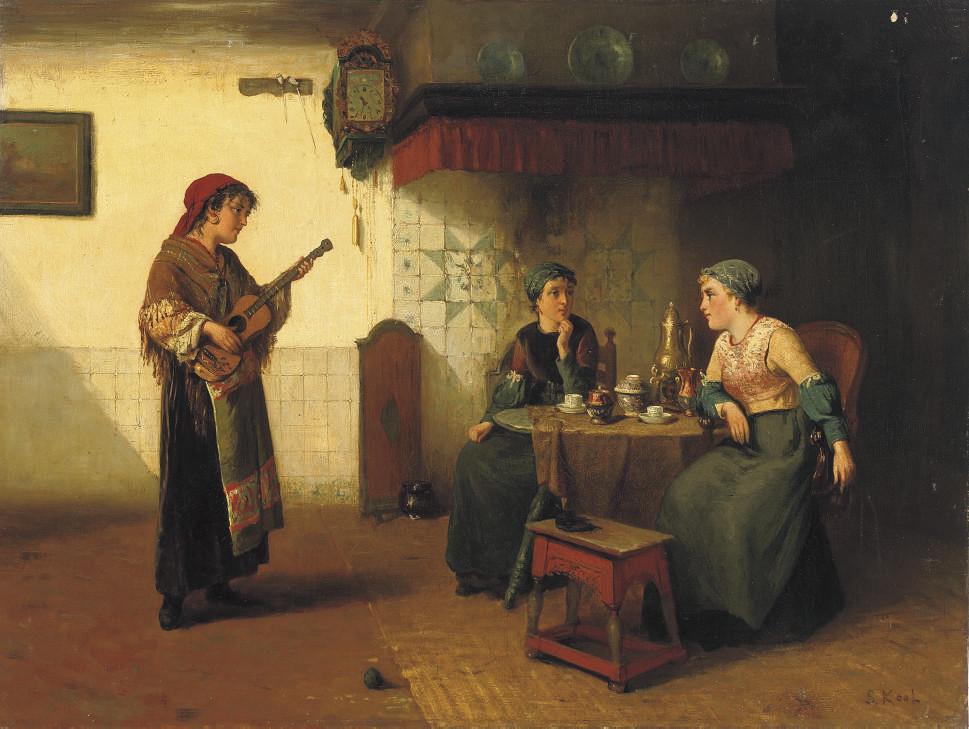 The gipsy musician