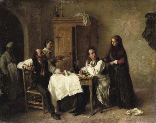 Luigi Zuccoli (Italian, 1815-1