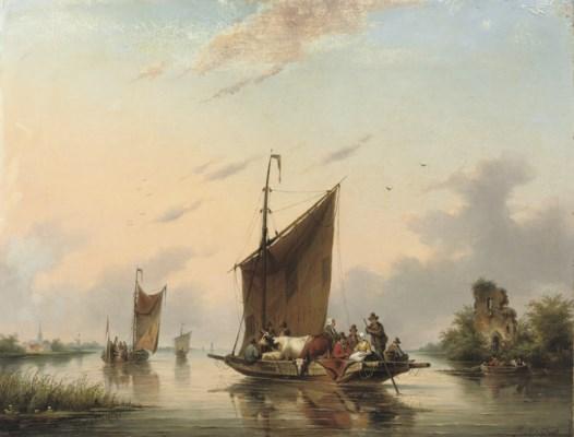 Gerardus Hendriks (Dutch, 1804