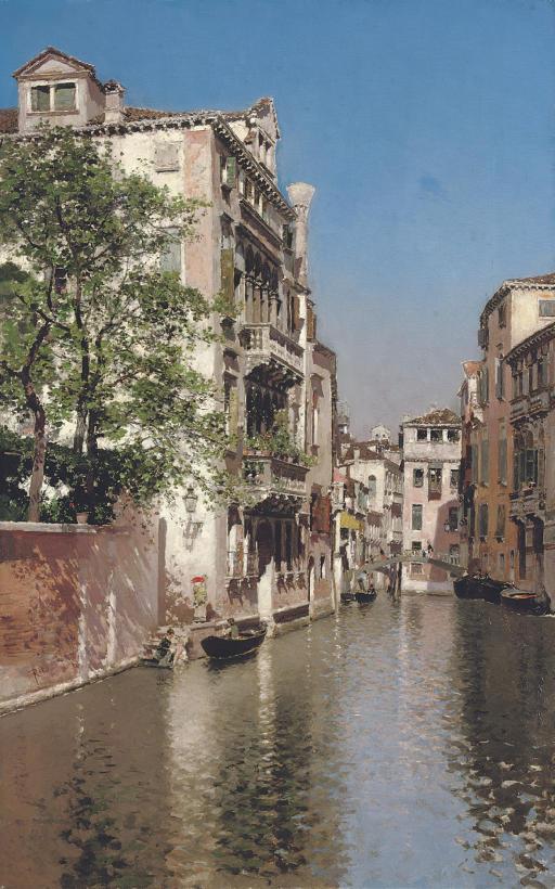 Canal San Giovane, Venice