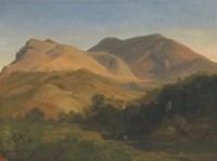 View of Olevano Romano, Lazio