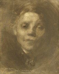 Portrait of the artist's sister, Marie