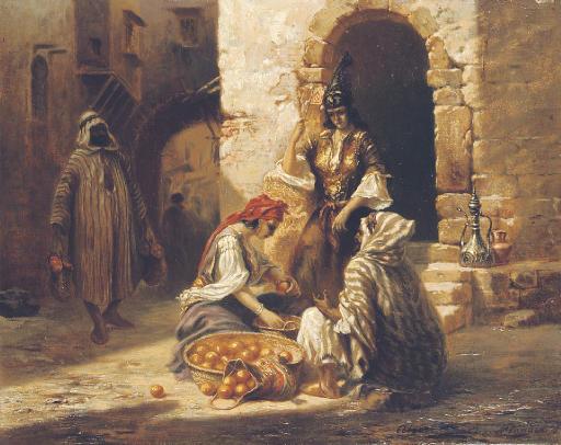 The orange seller, Algiers