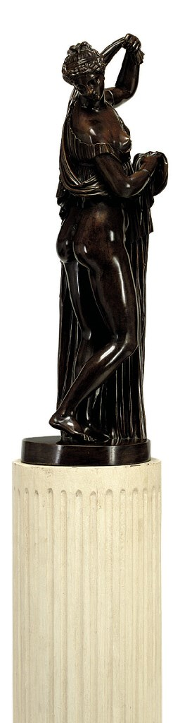 A FRENCH OR ITALIAN BRONZE FIG