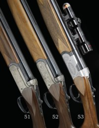 AN AS NEW 12-BORE SINGLE-TRIGGER OVER-AND-UNDER BOXLOCK EJECTOR GUN BY SAUER-BERETTA, NO. P06097